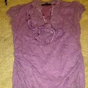 Lavendar blouse